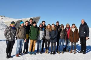 """Die """"neue"""" Erasmus plus Gruppe am MMM-Corones"""